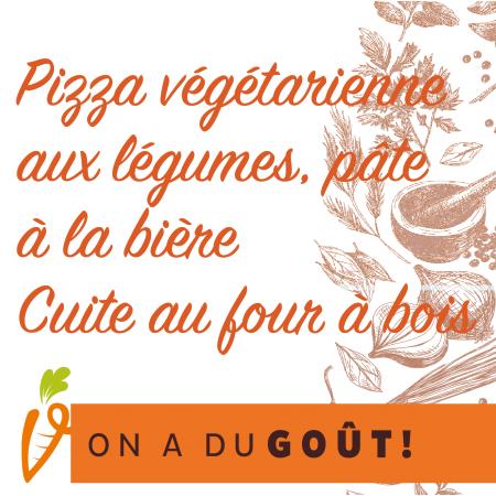 Pizza végétarienne Saveurs Santé