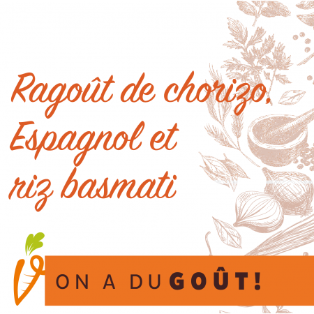 Ragoût de chorizo Espagnol Saveurs Santé