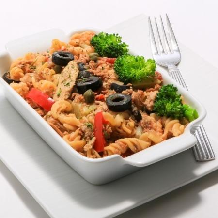 Pennine sauce Rosée au tofu et légumes grillés Saveurs Santé