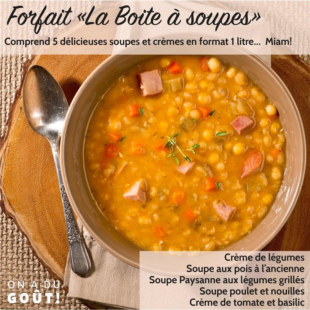 """Forfait """"La Crème de la Soupe"""""""