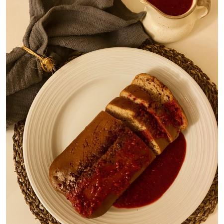 Gâteau framboises-yogourt