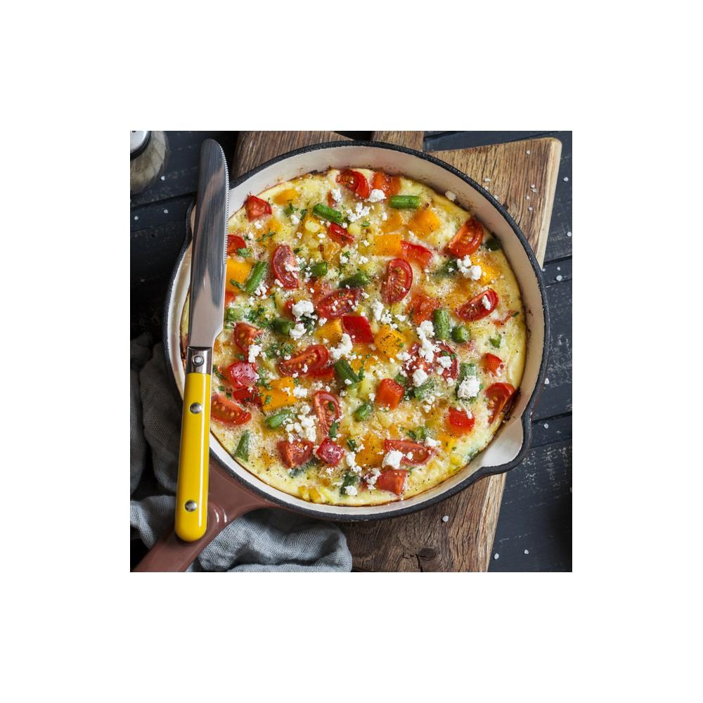 Vegetable omelet Saveurs Santé  Lunches