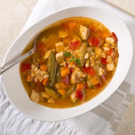 Peasant chicken meal-soup Saveurs Santé  Gluten free