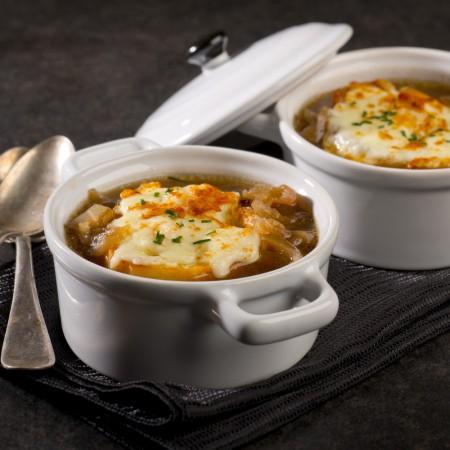 French onion soup Saveurs Santé  Soups-Meals