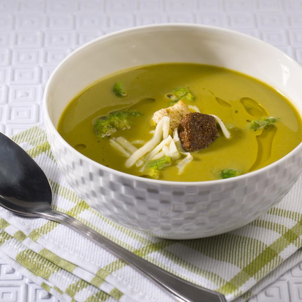 Broccoli and cheddar cream Saveurs Santé  Vegetarian