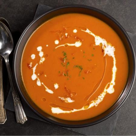 Cream of tomato and basil Saveurs Santé  Creams