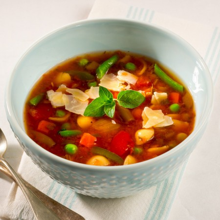 Minestrone soup Saveurs Santé  Soups
