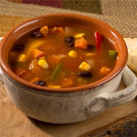 Mexican soup Saveurs Santé  Soups