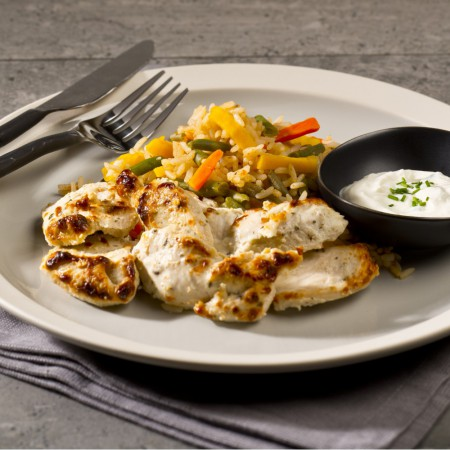Souvlaki chicken Saveurs Santé  Individual Portions