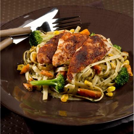 Chicken cajun style Saveurs Santé  Family Portions