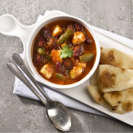 Vegetarian Tofu chili Saveurs Santé  Individual Portions