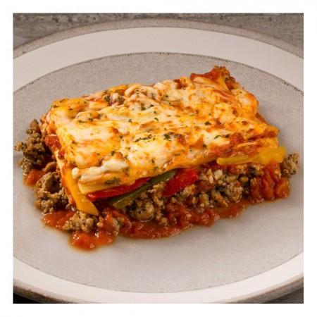 Italian sausages lasagna Saveurs Santé  Individual Portions