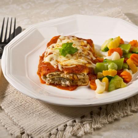 Chicken lasagnetta with Marinara sauce Saveurs Santé  Shop all