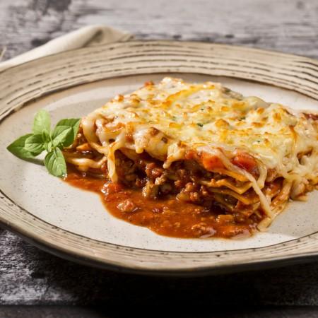 Meat sauce lasagna Saveurs Santé  Family Portions