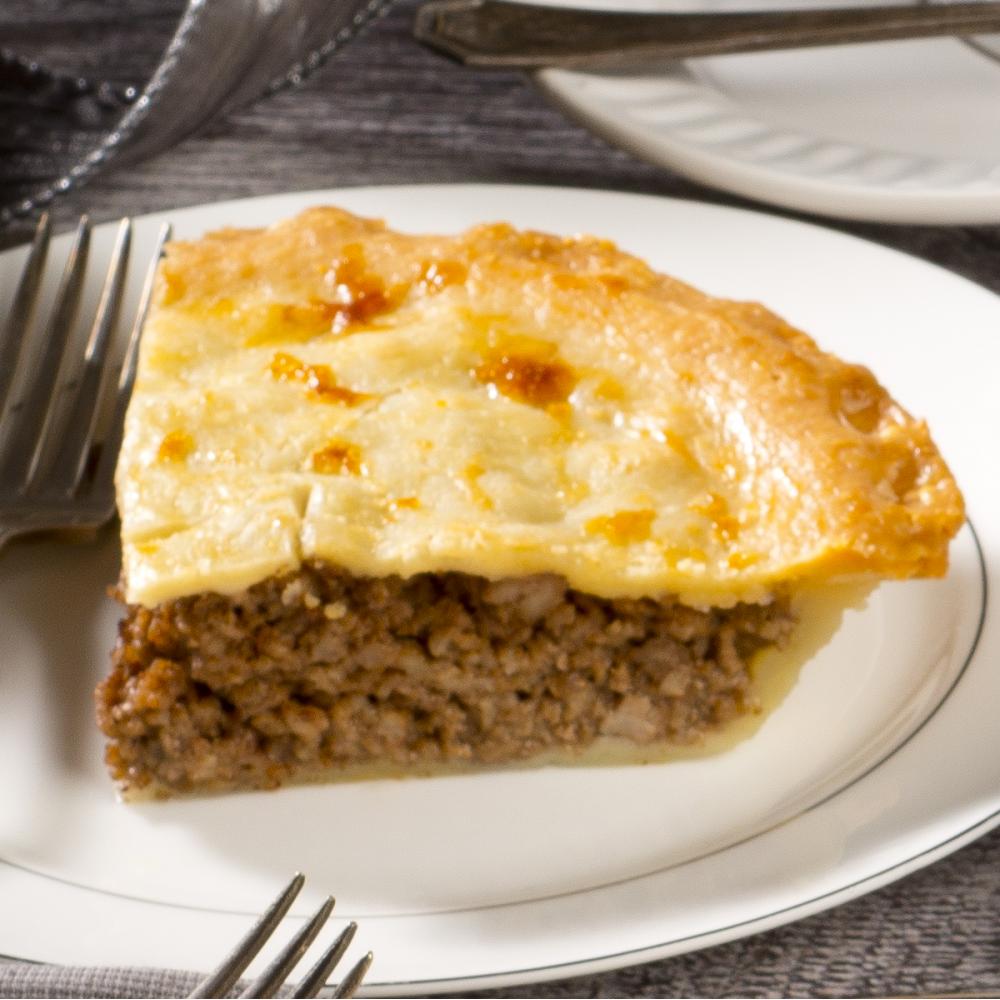 """Pork meat pie 5"""" Saveurs Santé  Individual Portions"""