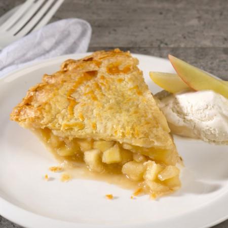 """Apple & pears pie - 8"""" Saveurs Santé  Desserts"""