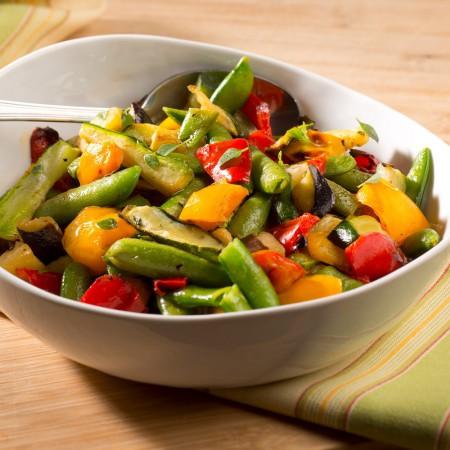 Mixed grilled vegatables Saveurs Santé  Gluten free