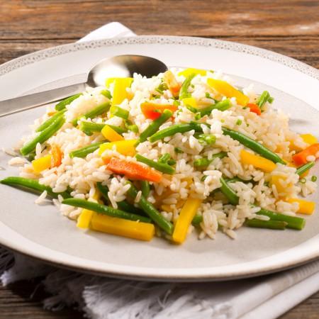 Riz aux légumes Saveurs Santé