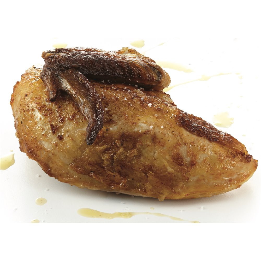BBQ cooked chicken breast Saveurs Santé  Ready-to-grill meats