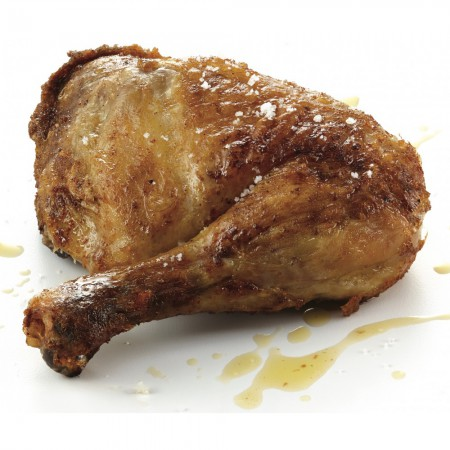 BBQ cooked chicken leg Saveurs Santé  Ready-to-grill meats