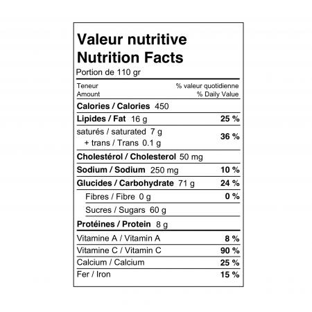 Crème de légumes 375 ml Saveurs Santé