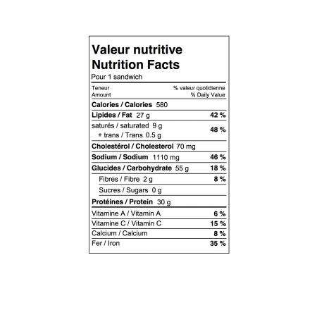 Boîte à lunch Sans Gluten Saveurs Santé